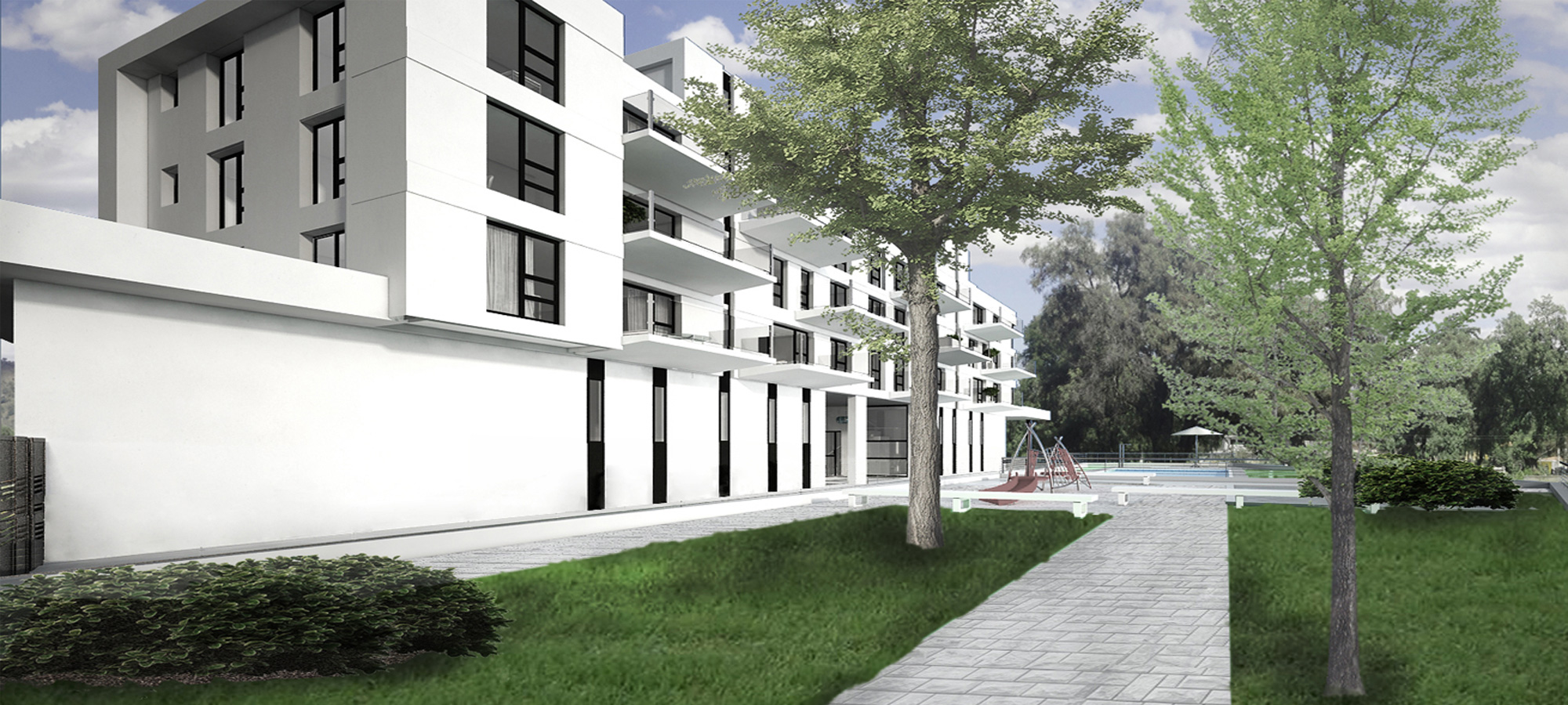 Edificio Puerta-de-Valencia-Zonas-Comunes-Jardínl