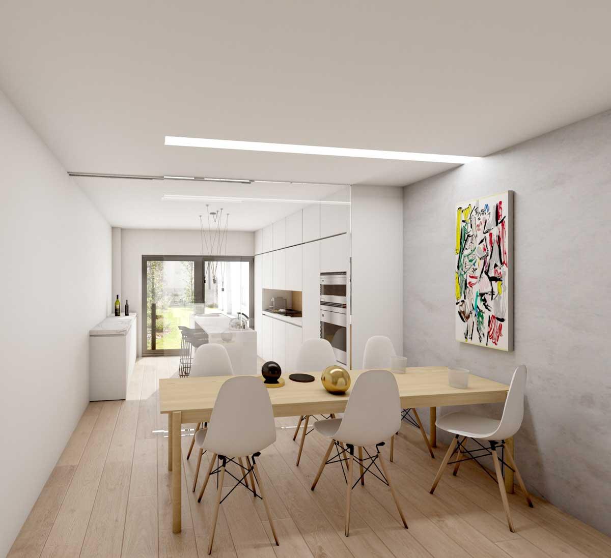 Residencia Continental, obra nueva de adosados en Barrio Medicina de Albacete
