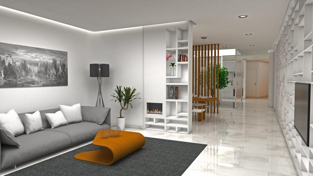 Domus Area 1 salón