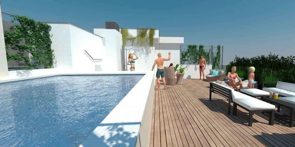 Edificio de obra nueva en el centro de Albacete HERREROS 20-22
