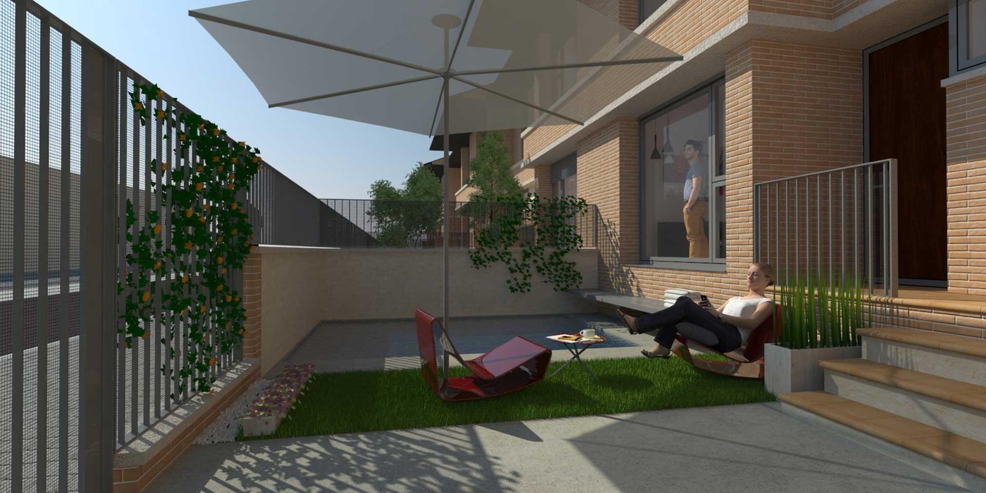 Vivienda nueva con piscina residencial continental viviendas unifamiliares albacete
